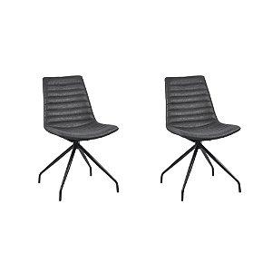 Kit Duas Cadeiras Tiana - Rivatti