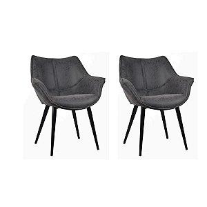 Kit Duas Cadeiras Cecilia - Rivatti