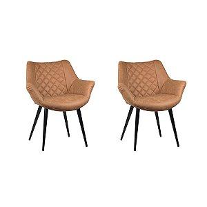 Kit Duas Cadeiras Cinara - Rivatti