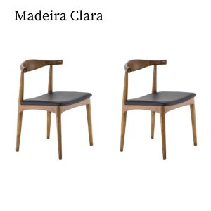 Kit Duas Cadeiras Carina - Rivatti