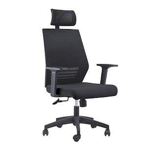 Cadeira Para Escritório - Office Braga com Encosto - Rivatti