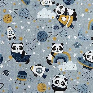Tecido para Decoração Coleção Essence - Panda Espacial - Karsten