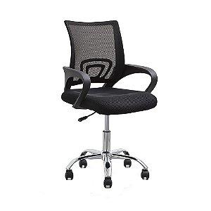 Cadeira Para Escritório - Office Santiago Cromada - Rivatti