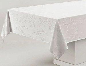 Toalha de mesa Retangular 12 lugares Celebration Veríssimo - Branca -  Karsten