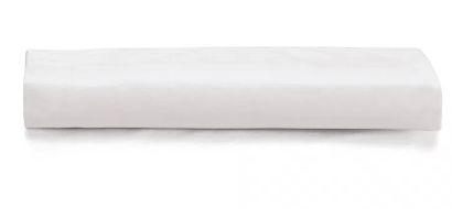 Lençol c/ Elástico Liss 180 fios Branco- Queen - Karsten