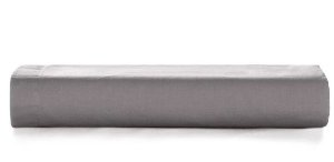 Lençol c/ Elastico Liss 180 fios Grafite - Casal - Karsten