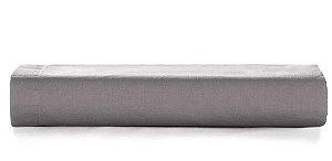 Lençol c/ Elastico Liss 180 fios Grafite - Queen - Karsten