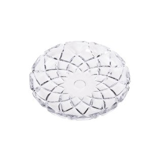 Prato De Cristal Deli Diamond Lyor 18,5x2,5cm