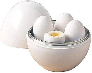 Recipiente Para Cozinhar Ovos No Microondas - OIKOS