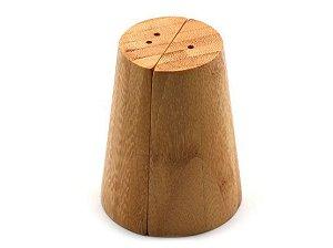 Kit De Saleiro E Pimenteiro De Bambu - Oikos