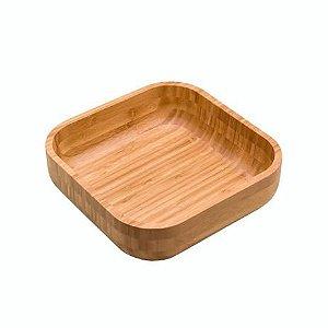 Bowl De Bambu Quadrado 23cm - Oikos