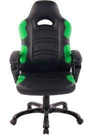 Cadeira Office Flash Preto E Verde - Rivatti