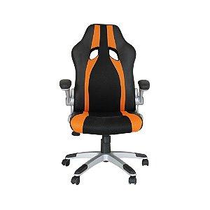 Cadeira Office Speed Preto E Laranja - Rivatti