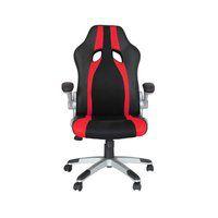 Cadeira Office Speed Preta E Vermelha - Rivatti