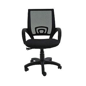Cadeira Office Santiago Preta - Rivatti