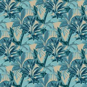 Tecido Acquablock Dracena Azul - Karsten