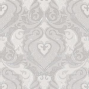 Tecido Estampado Art Decor - Heloisa Cinza 21351-1