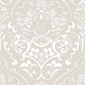 Tecido Estampado Verona - Karin Bege 21350