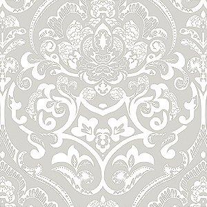 Tecido Estampado Art Decor - Karin Cinza 21350