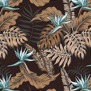 Aquatec Floral Marrom 006 - Fiama