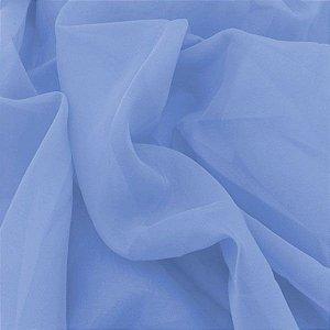 Voil Liso Cor 70 Azul