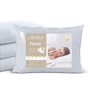 Travesseiro Plumi Gold - Branco - Altenburg