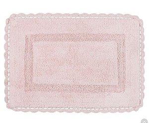 Tapete Croche Retangular 50x70 - Coral - Kacyumara