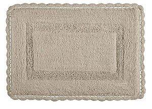 Tapete Croche Retangular 60X90 - Fendi - Kacyumara