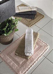 Tapete Croche Retangular 60X120 - Fendi - Kacyumara