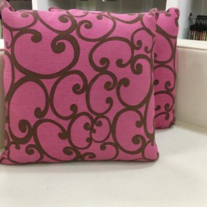Almofada rosa - 50X50