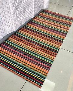 Tapete Decorativo La Casa - Colorido - 1,0m X 1,5m