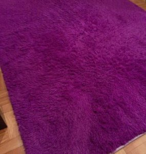 Tapete Tabacow - Roxo - 2,0m X 2,5m