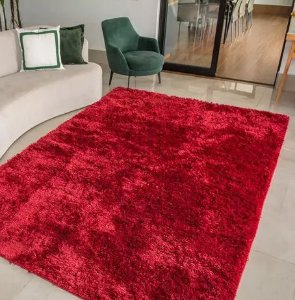 Tapete Corttex - Vermelho Bucana - 2,50m X 2,00m