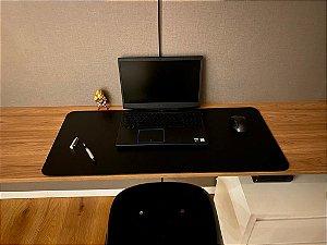 Desk Pad Preto Cor 31 - 90cm X 40cm - La Casa