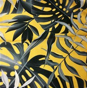Soleil Digital - Folhagem Amarelo