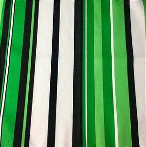 Soleil Digital - Listrado Verde/Preto