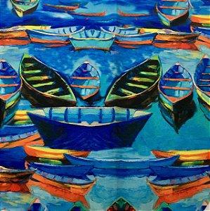Soleil Digital - Barcos Azul Claro