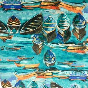 Soleil Digital - Barcos Turquesa