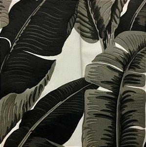 Acrilico - Folha de Bananeira Preto