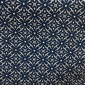Linho Florata - Cor Azul 012739