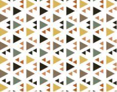 Linho Florata - Geometrico Cinza/Verde 062740