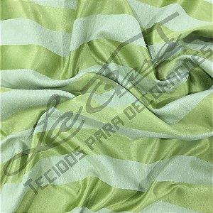 Jacquard Corttex 2,80 de largura - 7740 Verde Listrado 050