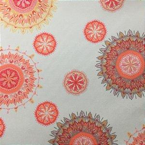Camurça Veloa Digital 700034 - Mandala Bege