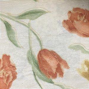 Tecido Estampado Verona - Floral Amarelo