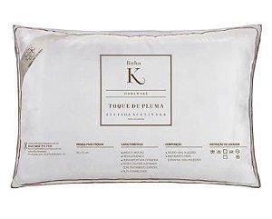 Travesseiro Casa K 50X70 - Toque de Plumas