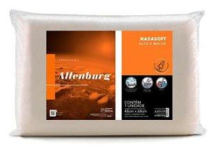 Travesseiro Altenburg - Nasasoft Marfim Bege - 48cm x 68cm -Alto e Macio
