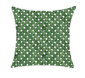 Almofada com Enchimento - Aquatec 50X50 - Telinha Verde