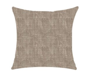 Almofada com Enchimento - Coleção Suede Concreto Lisa - 50X50