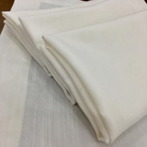 Kit 10 Guardanapos de Tecido La Casa - Shantung OffWhite - 45X45