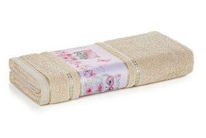 Toalha de Banho Infantil Fio Cardado Karsten - Missi Grão